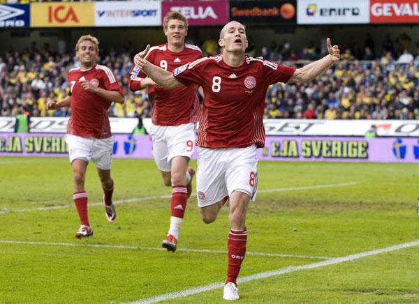 Thomas Kahlenberg scoring mod Sverige 2009