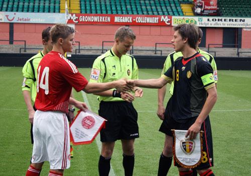 Mads Pedersen, U19 mod Belgien 2011
