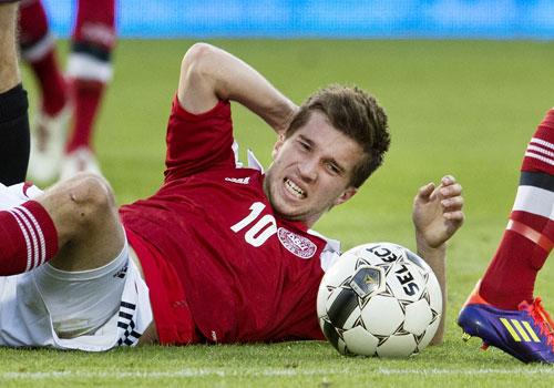 Andreas Laudrup U21 2012 Serbien