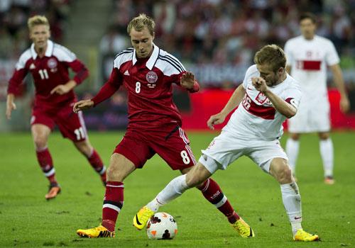 2013 Christian Eriksen mod Polen