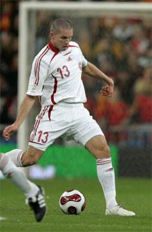 Leon Andreasen A-debut mod Spanien 2007