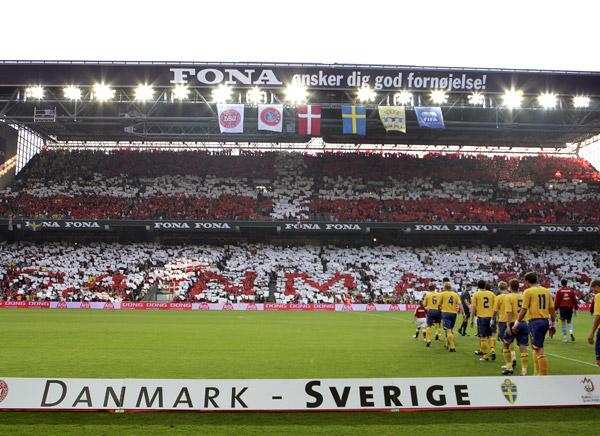 TIFO - Danmark - Sverige 2007 - DANMARK